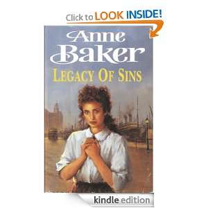 Legacy of Sins: Anne Baker:  Kindle Store