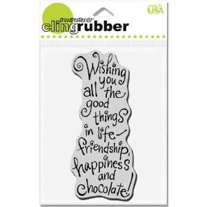 Cling All Good Things   Rubber Stamps Arts, Crafts