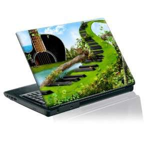 Taylorhe laptop skin protective decal musical garden very beautiful