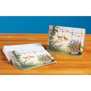 Birds on a Wire Mortar and Pestle Note Cards: Everything