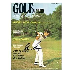 Gary Player Autographed / Signed Golf & Club Magazine