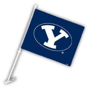 Brigham Young BYU Cougars Car/Truck Window Flag