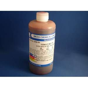 Congo Red Stain (500 mL.):  Industrial & Scientific