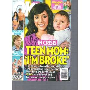 Ok Weekly (Teen mom Im Broke, September 2010) Books