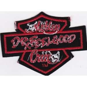 Motley Crue Dr. Feelgood Rock Music Patch   Skulls