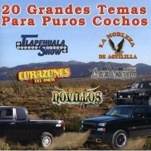 20 Grandes Temas Para Puros Cochos: Various Artists: Music