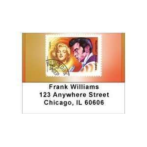 Elvis And Marilyn Stamp Address Labels Office Products