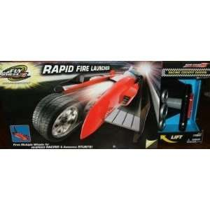 Road Champs Fly Wheels Rapid Fire Launcher  Toys & Games