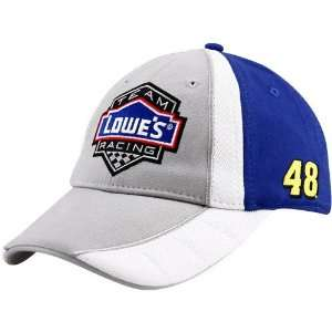 #48 Jimmie Johnson Royal Blue Gray 2010 Official Pit