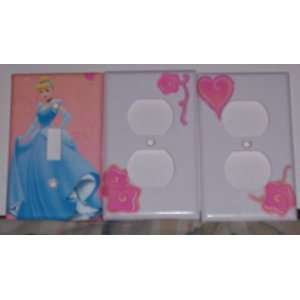 Disney Princess Cinderella Switchplate and Outlet