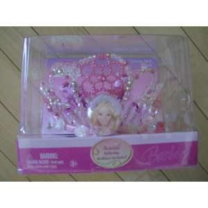 BARBIE 12 DANCING PRINCESSES FANCY TIARA SET: Toys & Games
