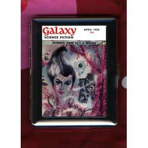 Galaxy Science Fiction Fantasy Vintage Cover ID CIGARETTE