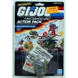 G.I. Joe Action pack Anti Aircraft Gun Toys & Games
