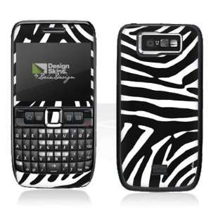 Design Skins for Nokia E63   Wildes Zebra Design Folie