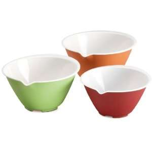 Chefn Nesting Bowls 3 Piece Mixing Bowl Set, Assorted