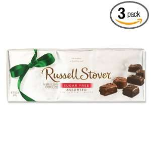 Russell Stover Sugar Free Assorted Chocolate, 8.25 Ounce Boxes (Pack