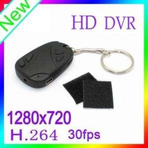Mini DV video camera cam #11HD car key chain HD808 New