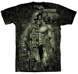 Ranger Up MACP All Army Warrior T Shirt