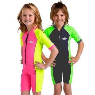 Girls Boys Swimwear Rash Vest Sun Protection Size 2 8