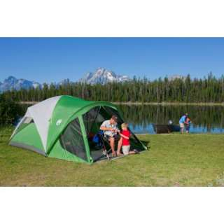 NEW COLEMAN Camping Evanston 6 Person Screened Tent (076501073515