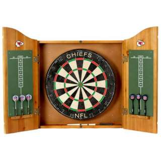 NFL Team Logo Dartboards and Darts Set, Dart Board Cabinets, Darts at