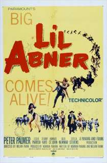 Lil Abner Movie Posters From Movie Poster Shop