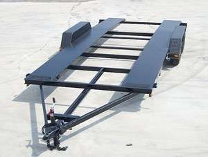Heavy Duty Tandem 18 Car Trailer Plans,Instructions,BOM Build 4 Less