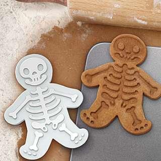 Gingerdeadman Cookie Cutter, Skeleton Cookie Cutter