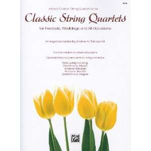 String Bass (Parts) (Alfreds Ovation String Quartet Series