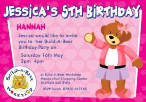 beau bear personalised stickers by lilas party