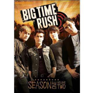 Big Time Rush Season One Volume Two DVD, Big Time Rush DVD, Full Frame