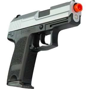 Metal Full Auto Blowback Airsoft Pistol   Two Tone