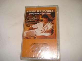 PEDRO FERNANDEZ Y LAS CANCIONES DE JUAN GABRIEL CASSETT