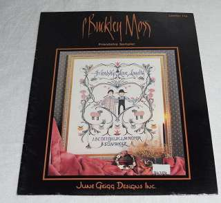 1988 P. Buckley Moss Friendship Sampler Cross Stitch