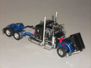 CUSTOM BLACK & BLUE DCP 1/64 379 PETERBILT w/36 SLEEPER