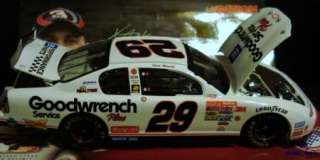 2001 Kevin Harvick #29 GM Goodwrench White Monte Carlo NASCAR Die Cast