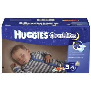Huggies Overnites Baby Diapers PICK SIZE & QUANTITY |