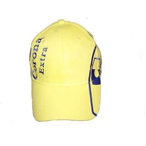 Corona extra beer cap hat   100 % cotton   One size fit