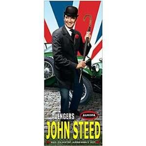The Avengers John Steed Patrick Macnee Aurora Model Box