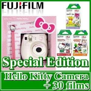 INSTAX MINI POLAROID HELLO KITTY CAMERA 7s + 30 films