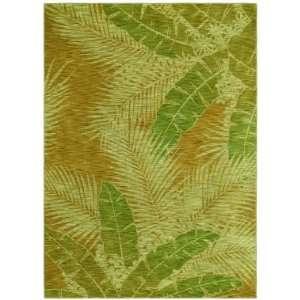 Shaw Tommy Bahama Home Nylon Carnival Palms Gold 29700 3 6 X 5