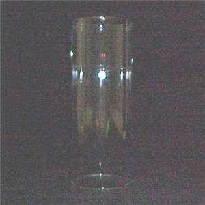 Glass 3 X 8 Cylinder Tube Candle Holder Light Lamp Shade Hurricane