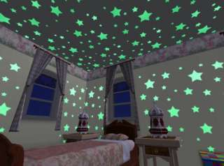 Glow In Dark Colored Stars Color Glowing Star + Putty 0085761121560