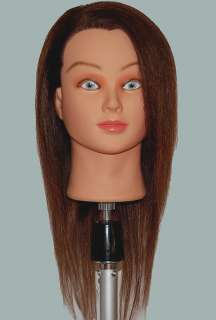 20 Cosmetology Mannequin Head HUMAN Hair  @ US SELLER
