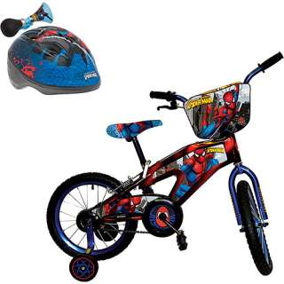 Spider Man 16 Boys Bike & Helmet Value Bundle Bikes