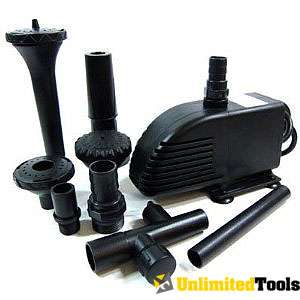 ELECTRIC FOUNTAIN WATER PUMP SUBMERSIBLE EFFECTS POND