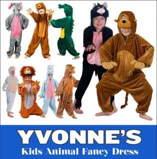 Childrens Reindeer Fancy Dress Childs Christmas Rudolf Boys Girls