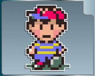 EARTHBOUND Ness vinyl decal car laptop stickers Mother