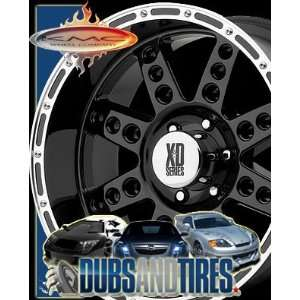 22x14 KMC XD SERIES wheels DIESEL Gloss Black wheels rims Automotive