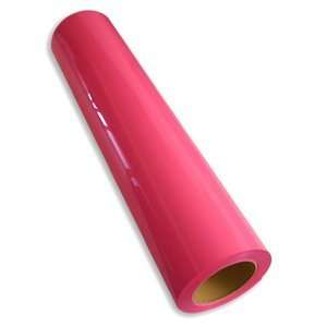 Heat Press Machinetransfer Vinyl Film Material ALL COLORS (Neon Pink)